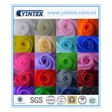 Luxury Hot Sale Colorful Gauze Fabric