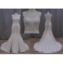 Trumpet Lace Trendy Wholesale Bridal Gown Wedding Dress