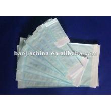 Les poches médicales bleues de stérilisation de cachetage d'individu Dentisst et tatoueurs