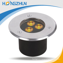 Round 12w led underground lamp RGB Meanwell driver 3 years warranty