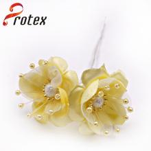 Schönes echtes Gelbes Rohmaterial für künstliche Blumen