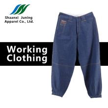 Short Dark Blue Jeans Pants for Man