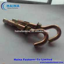 J type Anchor Bolt with hex nut and washer (M8-M20)