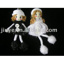 fashion hand wood puppet toy doll