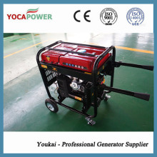 4kVA gerador de gasolina conjunto com soldagem e compressor