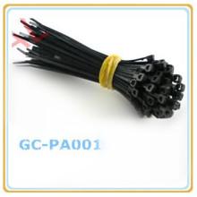 самостоятельной блокировки пластиковых кабеля нейлона галстук zip галстук