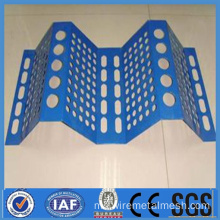 Perforated Anti angin dan Mesh kawalan habuk