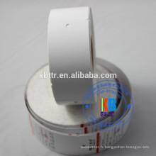 Étiquette volante de chaîne personnalisée vierge pour vêtements