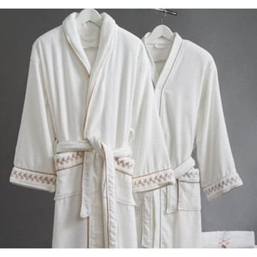 Canasin 5 étoiles hôtel velours peignoir luxe 100 % coton