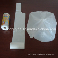 Virgin HDPE Plastic Garbage Bag on Roll in Different Colors