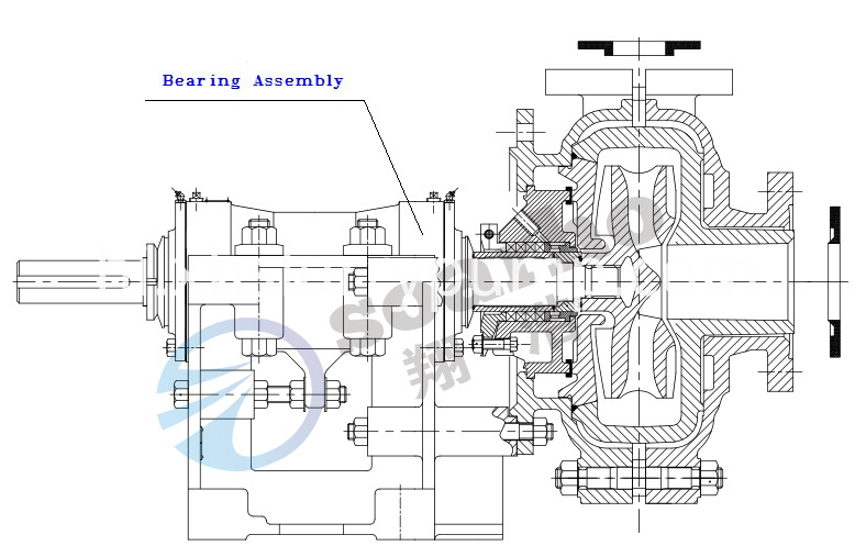 Warman Slurry Pump Bearing Assembly