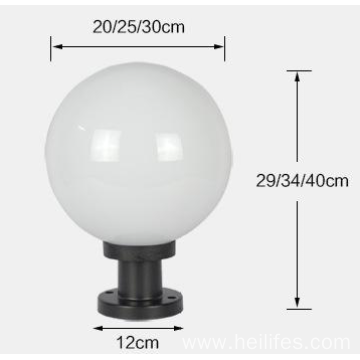 Solar Wall LED Light Ball