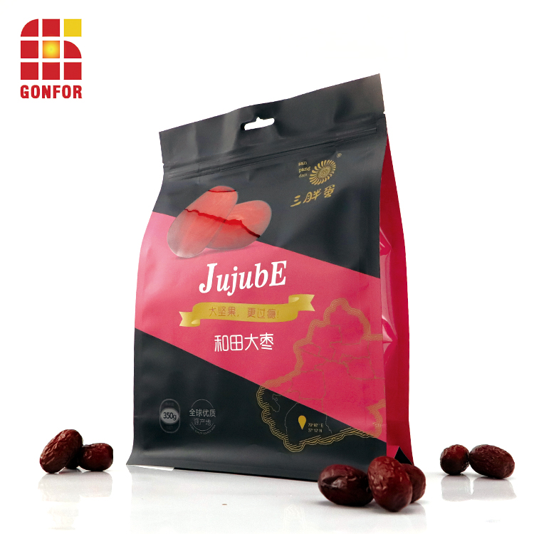 Custom Dried Fruit Packaging Stand Up Pouch 1