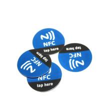 PVC NFC NTAG 213/215/ 216 antimetal tag sticker
