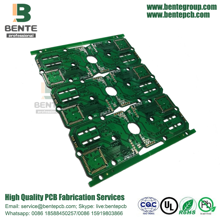 6 camadas 3oz Multilayer PCB FR4 Tg150 ENIG 3U
