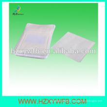 Serviettes jetables non tissées de type de maille de tissu d'approvisionnement d'usine de Spunlace pour la compagnie aérienne