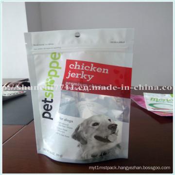 Multicolor Zipper Pet Food Plastic Bags
