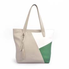 Women Vintage Leather Work Bag Large Shoulder Handbags