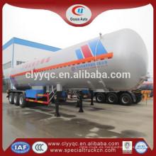 Para la venta barato LPG semi Remolque para camiones Gran volumen 3 ejes depósito de combustible semirremolque