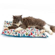 Coussin lavable anti-dérapant Coussin pour animaux de compagnie Design oreiller Canvas Cat Mat Bed