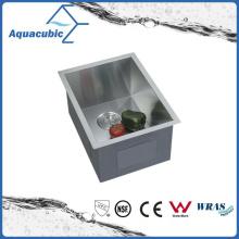 Fregadero hecho a mano de la cocina del acero inoxidable del undermount (ACS1520A1)