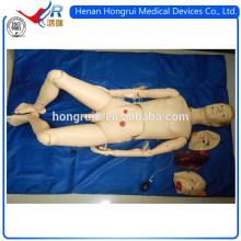 Trauma avanzado de la ISO y maniquí del entrenamiento de la enfermería