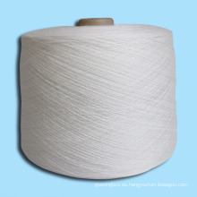 Hilo de lana de mezcla de fibra de bambú de algodón para el tejido a mano