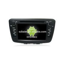 Четырехъядерный! Андроид 4.4/5.1 автомобильный DVD для Сузуки БАЛЕНО 2015 с 7-дюймовый емкостный экран/ сигнал/зеркало ссылку/видеорегистратор/ТМЗ/кабель obd2/интернет/4G с