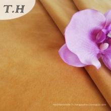 Velvet flocage tissu pour meubles