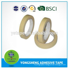 Masking colored crepe paper adhesive tape
