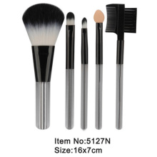 5pcs plastic handle nylon hair travel makeup tool set
