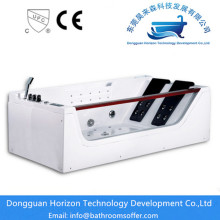 Factory Price for Square Small Sizes Bathtub Back massage bathroom jacuzzi tub supply to Indonesia Exporter