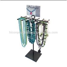 Jewellery Shop Furniture Design Metal Counter Top Necklace Jewelry Display Stand
