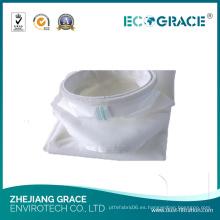 Bolso de filtro de PTFE del colector de polvo del paño de la longitud de 3000m m