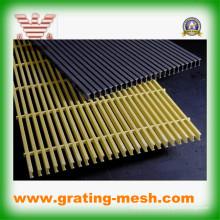Grille pulvérisée en fibre de verre / FRP / GRP pour trench