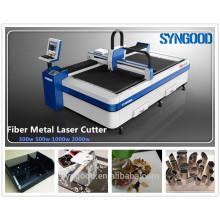 Máquina de corte da fibra 0.5-16mm espessura Projeto aberto 1500 * 3000mm