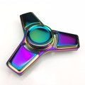 Nyaste Hand Spinner Metal Rainbow Triangle Fidget Spinner