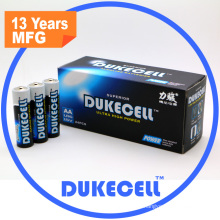 High Capacity Am3 1.5V Alkaline Batteries Lr6