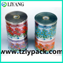 Four Colors Flower, Heat Transfer Film for Plastic