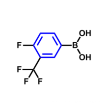 4-FLUORO-3-(TRIFLUOROMETHYL)PHENYLBORONIC ACID CAS 182344-23-6