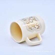 Taza de encargo de cerámica popular popular del café barato caliente de la venta
