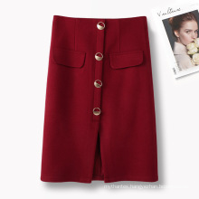 Women Casual Long Skirt Office Ladies Work Skirt