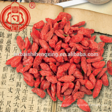 Chinese ningxia wolfberry goji berry dryed