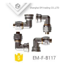 EM-F-B117 AL-PEX-AL Messing T-Rohr