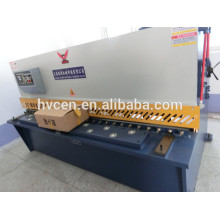 qc12y-8*6000 metal sheet shear cutter/metal sheets shearing machine