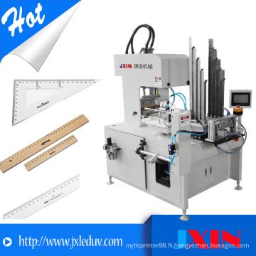 Machine d'impression automatique de sérigraphie Carousel haute efficacité pour produits en plastique