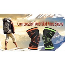 Compressão Anti-Skid Knee Sleeve