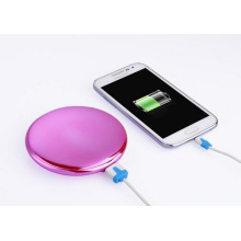 New Fashion Colorful Make-up Mirror Power Bank