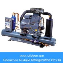 Unité de condensation de refroidissement par eau de réfrigération de Copeland pour la chambre froide