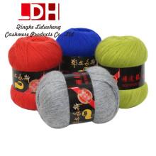 Otoño e Invierno Visón pelo largo Visón hilado de cachemira hilo de lana hilo de tejer